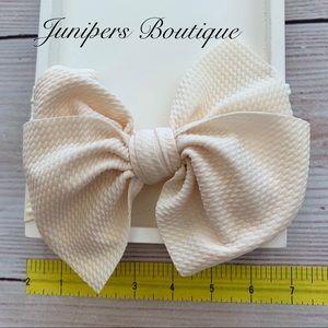 Other - Trendy Baby Big Bow Headband